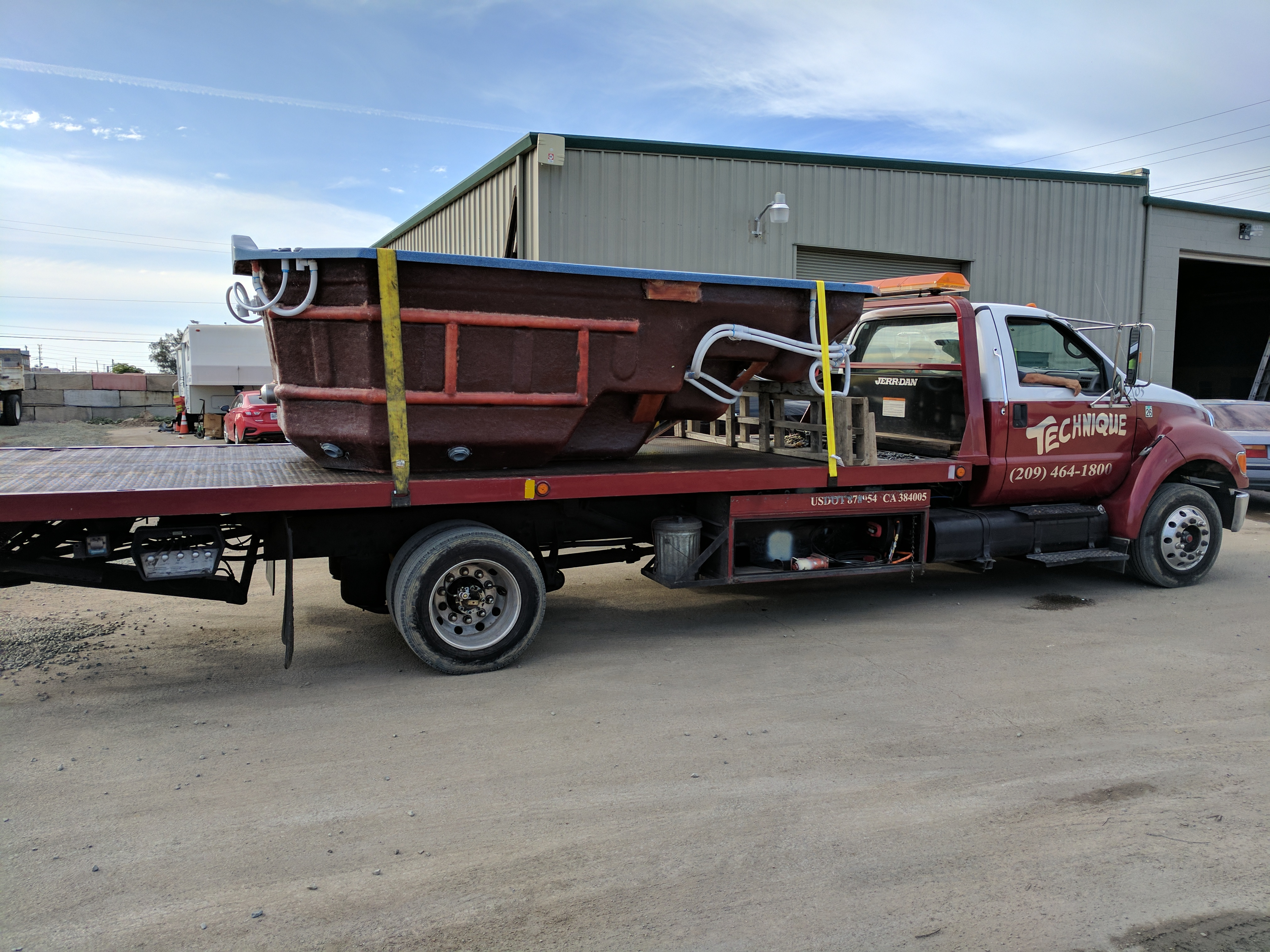 Tow Truck Stockton Ca >> Technique Towing Heavy Hauling And Equipment Transport In