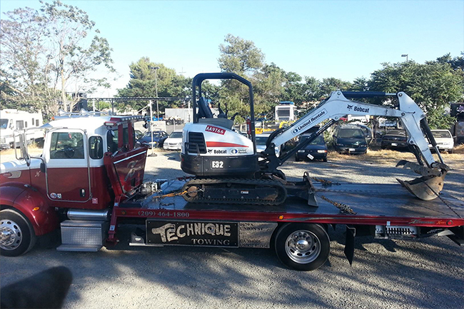 technique tow trucks stockton ca